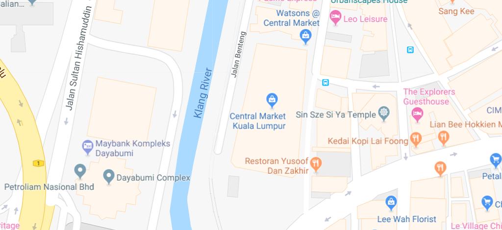 Kuala Lumpur Subway Map Pdf.Location Map Central Market